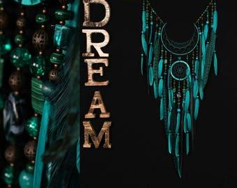 IN STOCK! Arrow Dreamcatcher Moon Dreamcatcher turquoise dreamcatcher green dream catchers native american Indian talisman boho decor wall