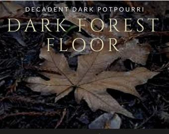 Dark Forest Floor Potpourri -Meditation Oil - Grounding Oil - Moss -Sandalwood -Patchouli -Nag Champa -Oakmoss -Hippy Scent -Metaphysical