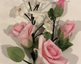 Pink Rose Sugar Bouquet