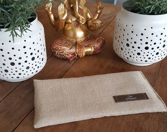 Yoga Gifts / Meditation Pillow / Aromatherapy Pillow / Lavender Eye Pillow /  Gifts for Her / Stocking Filler / Luxury Cotton Pillow