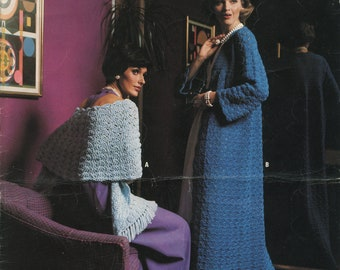 Family Knitting and Crochet Phentex Pattern Book 7502 (Knits & Crochets for the Family); Good; USED