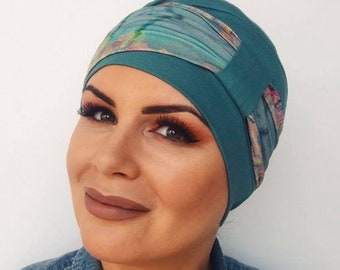 Voluminous Bamboo Hat For Hair Loss|Womens chemo hat | stylish chemo headwear | turbans for cancer patients | chemo headwear | cancer hat