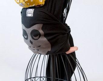 Sleeping Owl Wrap - Hemp Baby Carrier