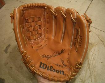 """Original """"KIRBY PUCKETT"""" Baseball Glove, Wilson #A2151. Like New/Near Mint, L@@k, Wow!!"""