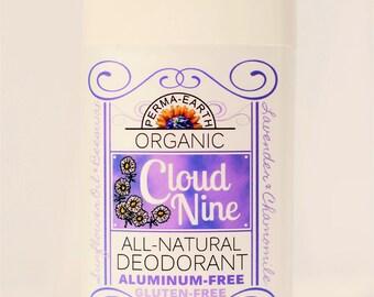 Organic Cloud 9 Deodorant - Organic Chamomile Deodorant - Organic Lavender Deodorant - Natural Deodorant - Organic Deodorant - Body Odor