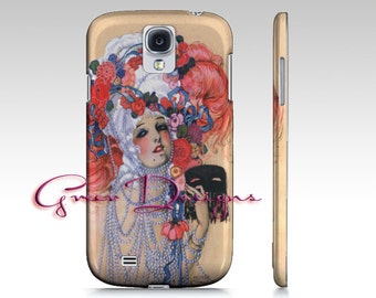 Art Deco Marie Antoinette iPhone Case  cover 4  4s 5 5s Samsung Galaxy S3 s4 S5