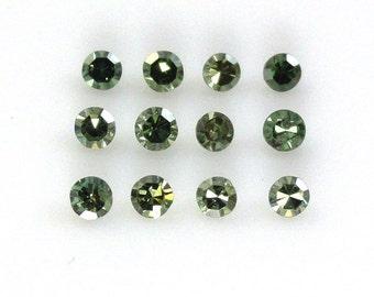 Green Diamonds 2mm Round Cut 0.40 Carat Sale by Best in Gems (312)