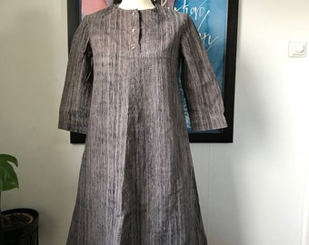 Vintage Marimekko Dress Shirt dress / Size Small  / 1960 Finland