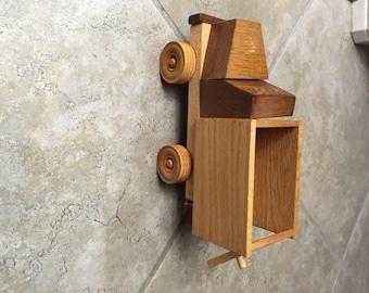 Handmade Wooden Small Dump Truck