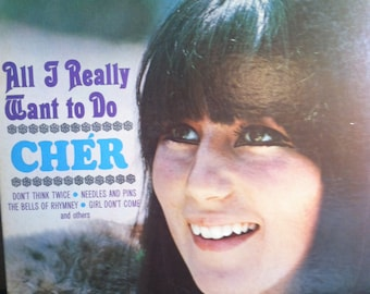 Cher All I Really Want To Do Vinyl Pop Record Album