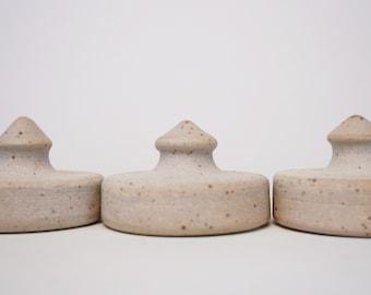 Wide-Mouth Mason Jar Fermentation Weights, Set of 3 (Ready to ship)
