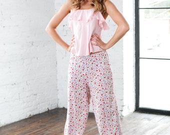 Floral Pyjamas, Pink Pyjama, Pajamas Bridesmaid, Shorts Pyjama, Pyjama Set, Floral Pyjama Bottom, Bridesmaid Pyjamas Floral, Pajamas Pants