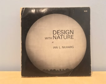 Vintage Book- Design with Nature by Ian McHarg
