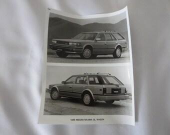 1985 Nissan Maxima GL Wagon Factory Press Publicity Photo