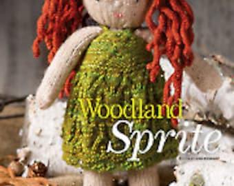 Woodland Sprite Fairy knit doll pattern
