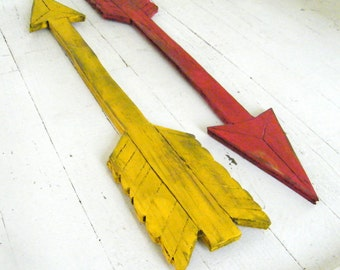 Arrow Sign Wooden Arrow Tribal Nursery Direction Arrow Tribal Wall Art Woodland Decor Boho Decor Archery Gift Tribal Arrow Decorative Arrow