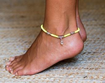 Cotton Anklet // Hippie Anklet // Cotton Ankle Bracelet // Beach Anklet // Ankle Bracelet For Girls // Hippie Ankle Bracelet