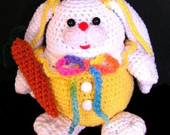 PUDGY BUNNY PDF Crochet Pattern (English only)