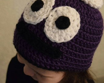 "Crochet ""Peep and the big wide world"" Inspired hat"
