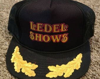 Vintage 70s Ledel Shows Vegas Trucker Hat