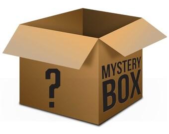 Mystery Box, Junk Box, Cut Offs, Box Elder Scraps, Ready To Ship, 2+ lbs, Free Shipping
