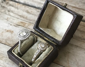 Antique Double Ring Box