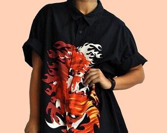 25% OFF 90s Enter the Dragon Shirt OSFM