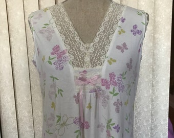 Vintage Laura Ashley Nightgown , Medium