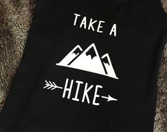 Take a Hike, take a hike tank top, hiking shirt, camping shirt