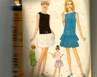 McCall's Misses' and Junior Dress In Four Versions Pattern 9157