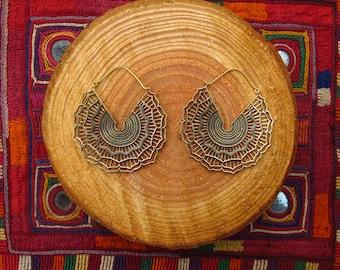 -Lotus earrings