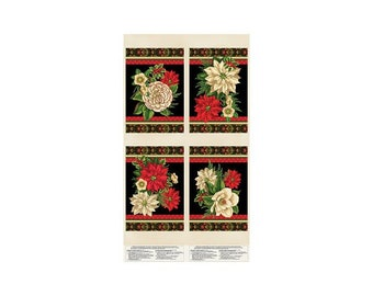Holiday Lane~Placemat Panel 23in x 44in Cotton Fabric By Wilmington Prints