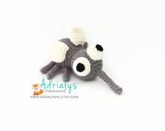 Crochet Mosquito | Crochet Animals | Crochet Toy | Amigurumi Mosquito | Bugs | Mosquito Toy | Crochet Amigurumi | Made to Order
