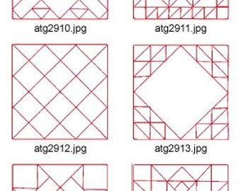 Quilt-Squares-1 ( 10 Machine Embroidery Designs from ATW ) XYZ17E