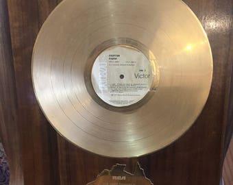 "Eruption Gold Single 1977 hit ""Eruption"""