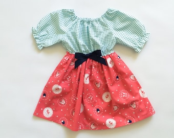 Baby Girl Gift - Gifts for Girls - New Baby Gift - Gifts under 25 - Baby Gifts under 25 - Woodland Animals Dress
