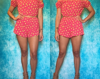 Pineapple Bubbly Two Piece Set