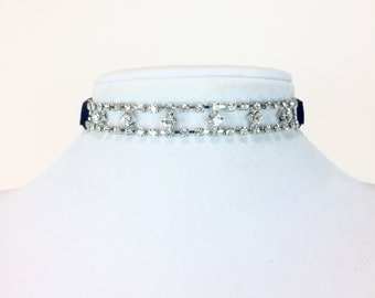Cerise Crystalized Choker