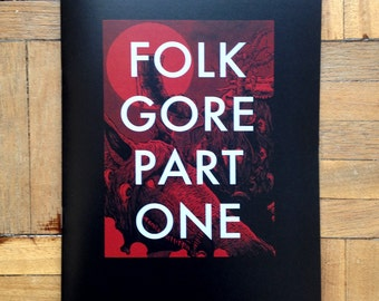 FOLKGORE Part One illustrated zine