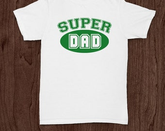 Super dad t-shirt tee shirt tshirt Christmas dad father daddy family fun father's day grandfather family gift for dad best dad top dad cool
