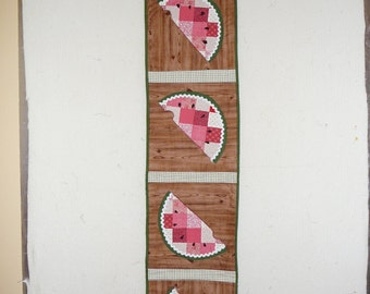 Watermelon table runner #3
