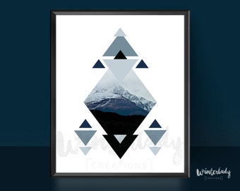 Wall art mountains  | Printable | Instant Download