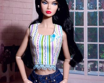 Top for Poppy Parker doll, Dynamite girls