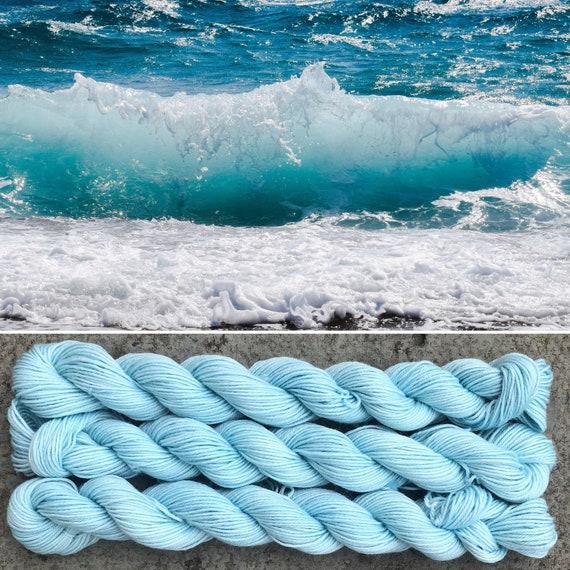 Seaspray 20g Miniskein, merino nylon blend sock yarn