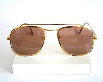 OPTITAL aviator New Vintage Sunglasses - Original Vintage - 90s - New old stock