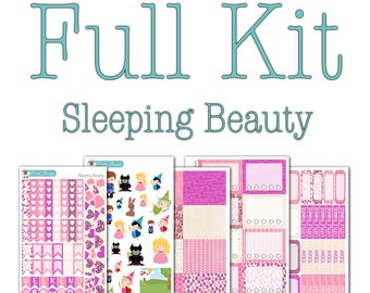 Sleeping Beauty Collection - Disney Planner Stickers