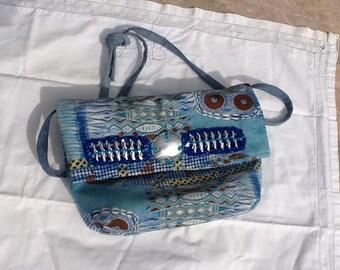 Satchels bag blue horizon, satchels, shoulder bag summer 2016, satchels, shoulder bag Blue Lagoon, escape bag, bag