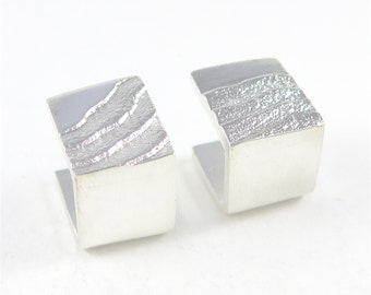 Drifting Sands 2 Cufflinks in sterling silver