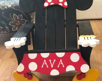 Minnie & Mickey Mouse Adirondack Chair