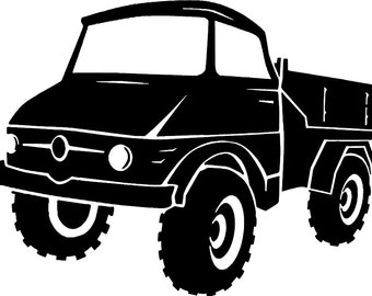 """Unimog"" bumper sticker"